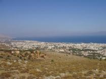 Άποψη της πόλης της Χίου από τον Κορακάρη