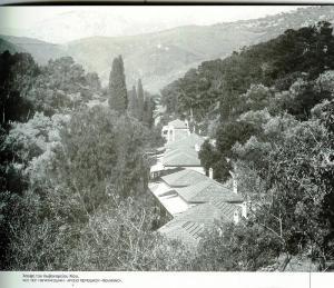 Άποψη του Λωβοκομείου Χίου. Φωτογραφία Περικλή Παπαχατζιδάκη (αρχείο περιοδικού Πελλιναίο)