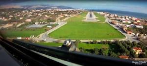 """Αεροδρόμιο """"Όμηρος"""" Χίου, πανοραμική άποψη (φωτό: Γεωργίου Λ. Λιαδή)"""