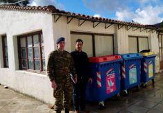 Προσδοκίες για νέα αύξηση των ανακυκλώσιμων υλικών φέρνει η συμφωνία Δήμου Χίου-96 ΑΔΤΕ