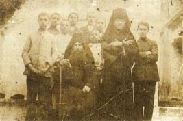Οι άγιοι Νικηφόρος, Άνθιμος και λεπροί